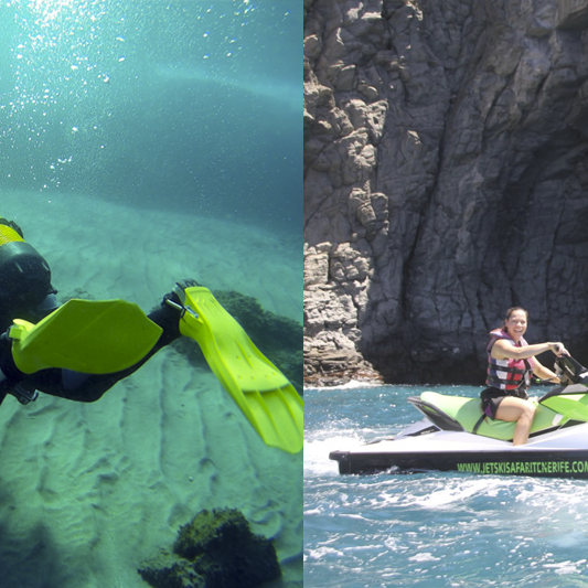 jetdiving - bautismo buceo - jetski