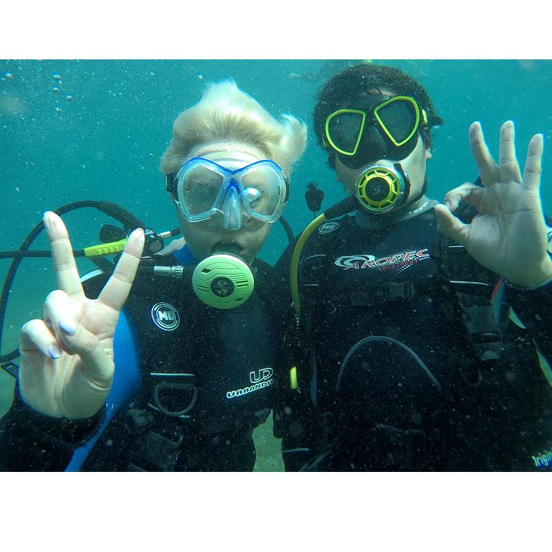 bautismo de buceo - try dive - enjoy the sea