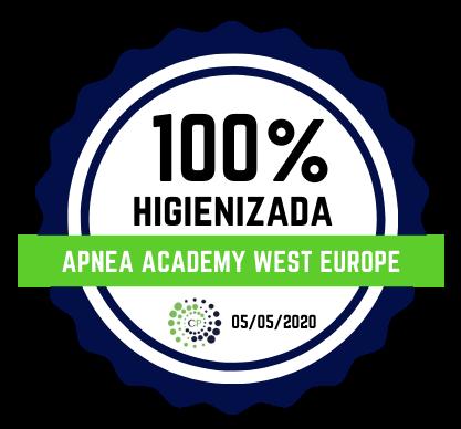 apnea academy west europe disinfectada covid-19